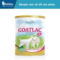 Sữa dê Goatlac 1 400g