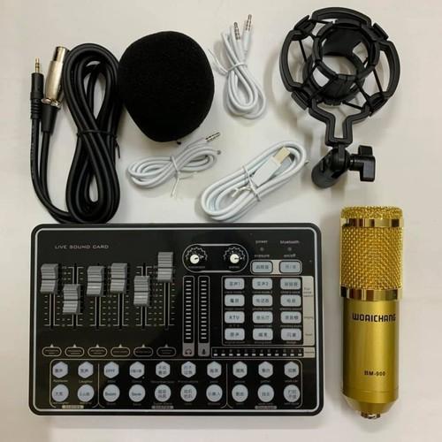 BỘ COMBO míc hát karaoke livestream online micro WOAICHNG BM-900 CARD H9 BLUETOOTH THẾ HỆ MỚI 21 HIỆU - 11623960 , 19269049 , 15_19269049 , 780000 , BO-COMBO-mic-hat-karaoke-livestream-online-micro-WOAICHNG-BM-900-CARD-H9-BLUETOOTH-THE-HE-MOI-21-HIEU-15_19269049 , sendo.vn , BỘ COMBO míc hát karaoke livestream online micro WOAICHNG BM-900 CARD H9 BLUET