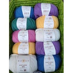 Cuộn Len Knit Rowan Wool Cotton 4ply