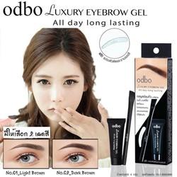 Gel Kẻ Mày ODBO Luxury Eyebrow Gel