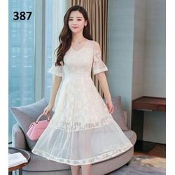 Đầm ren xinh an