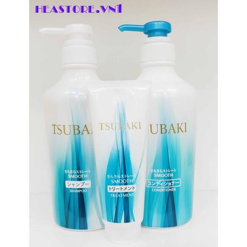 Bộ dầu gội và dầu xả Shiseido Tsubaki Nhật Bản màu xanh  - 450ml - 11829628 , 19279890 , 15_19279890 , 390000 , Bo-dau-goi-va-dau-xa-Shiseido-Tsubaki-Nhat-Ban-mau-xanh-450ml-15_19279890 , sendo.vn , Bộ dầu gội và dầu xả Shiseido Tsubaki Nhật Bản màu xanh  - 450ml