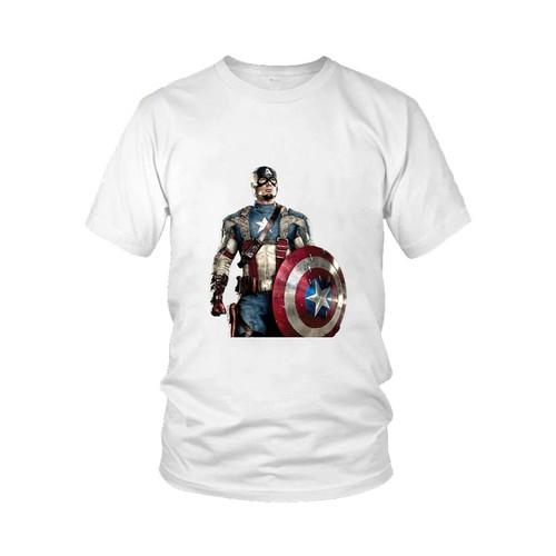 Áo thun in hình Đội Trưởng Mĩ Captain America Mẫu 8