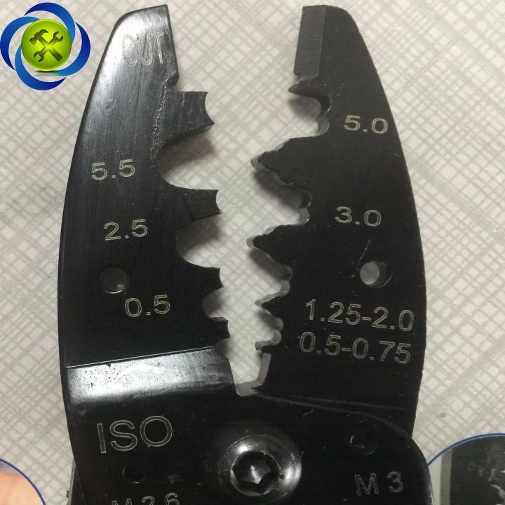 Kềm cắt tuốt bấm cos dây điện C-Mart B0034-10 2