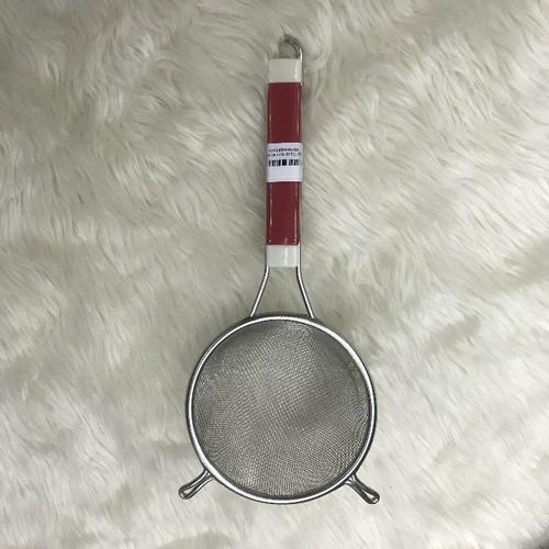 Lọc inox cán đỏ 30x13cm 041343