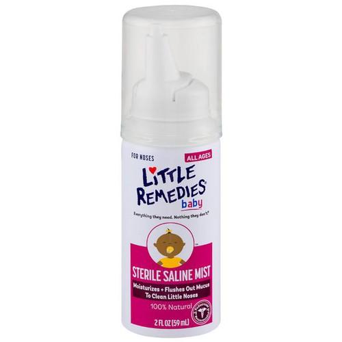 Dung dịch xịt rửa mũi hoàn toàn tự nhiên cho trẻ em little remedies
