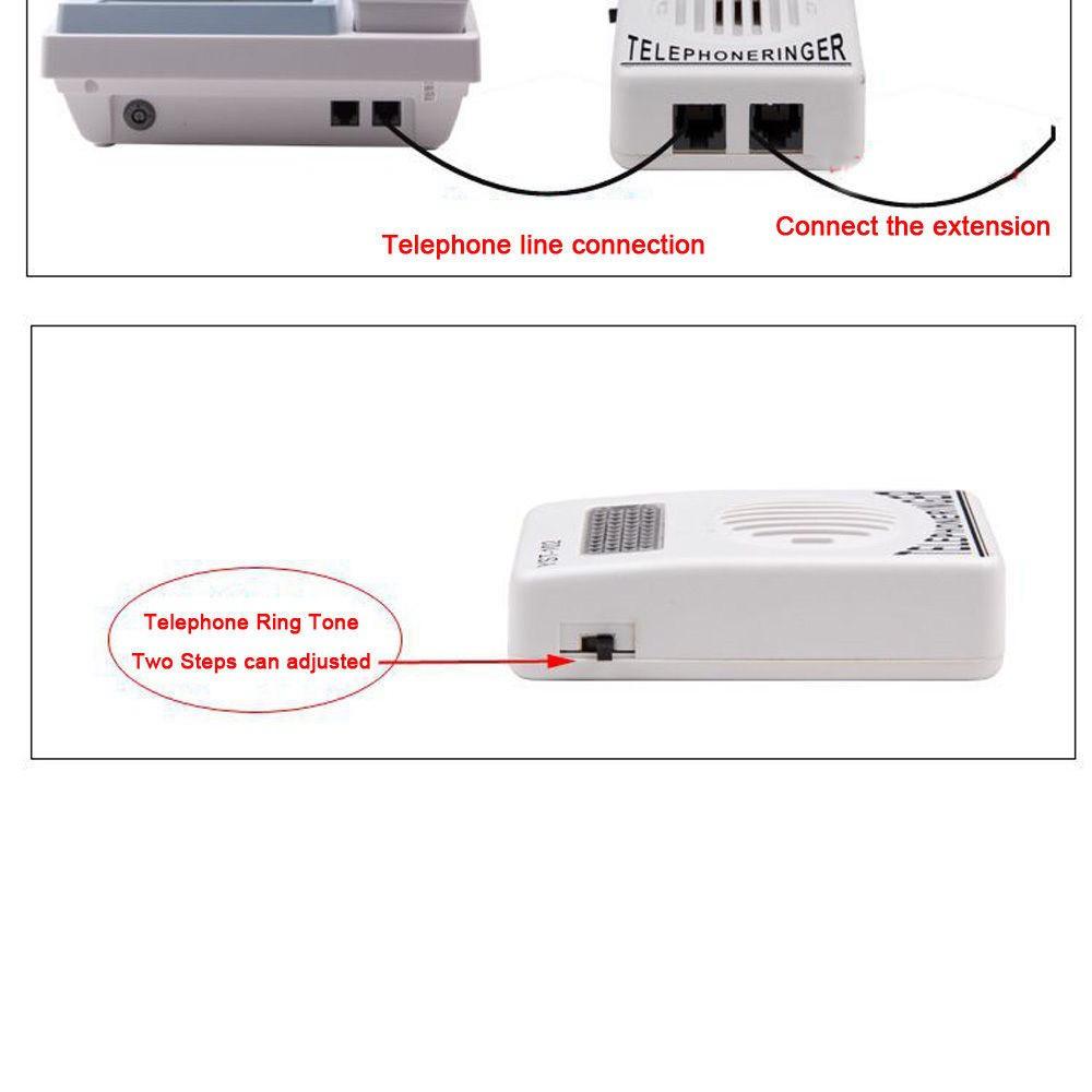 Bộ khuếch đại chuông điện thoại bàn Telephone Ringer YST-102