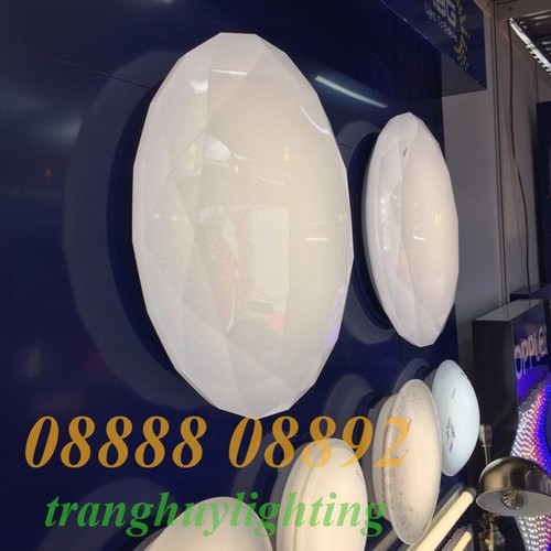 Đèn ốp trần kim cương 22w opple - đổi màu