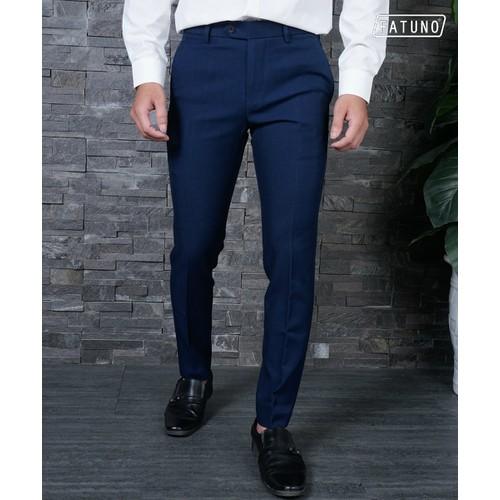 [Hàng hiệu cao cấp] quần âu cao cấp fatuno, màu xanh cổ vịt, vải 79 phong cách hàn quốc