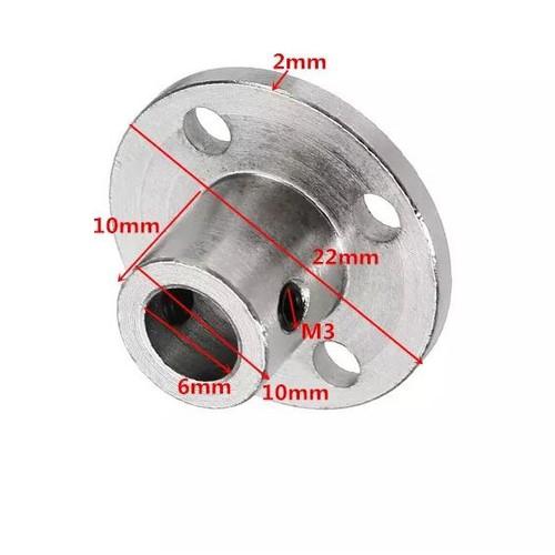 Khớp Nối Động Cơ Mặt Bích Trục 6mm