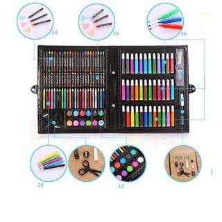 [ FREESHIP GIỜ VÀNG-HOÀN TIỀN] Hộp bút màu 150 chi tiết cho bé yêu, bộ bút màu vẽ đa năng cho bé, bộ hộp bút chì màu 150 chi tiết cho bé yêu sáng tạo - PVN1832 thumbnail