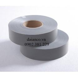 Cuộn dây phản quang vải poly màu xám bản 5cm*100m (ORP-0001)