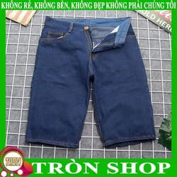 Quần short jean nam xanh đậm siêu rẻ TS392 Tronshop   quần short nam   quần shorts