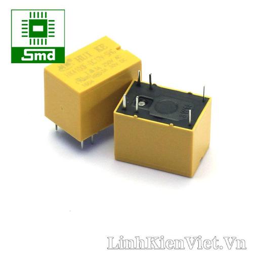 Combo 3 relay huike hk4100f-dc12v-shg 3a - 6 chân