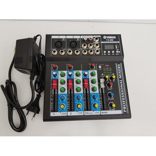 Bàn TRộn âm thanh Mixer f4 có bluetooth
