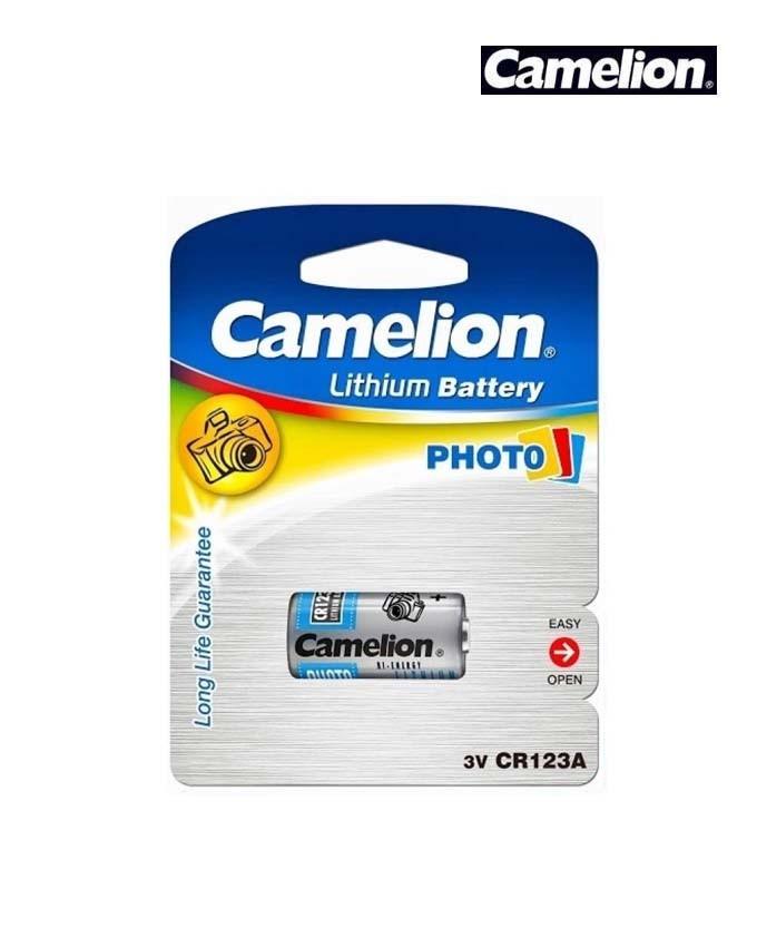 CR123 - Pin CR123A 3v Lithium CAMELION CR123 vỉ 1 viên