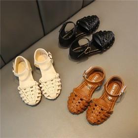 Sandal rọ đan mũi cho bé gái - B122