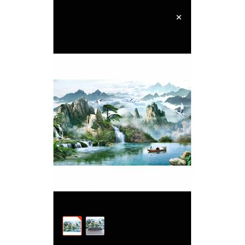 Tranh dán tường phong cảnh thiên nhiên 3D 110x90 cm - 11148418 , 18920899 , 15_18920899 , 245000 , Tranh-dan-tuong-phong-canh-thien-nhien-3D-110x90-cm-15_18920899 , sendo.vn , Tranh dán tường phong cảnh thiên nhiên 3D 110x90 cm