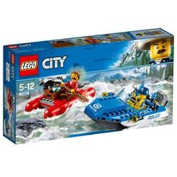 Bộ lắp ráp Thuyền Hơi Tẩu Thoát - LEGO City 60176