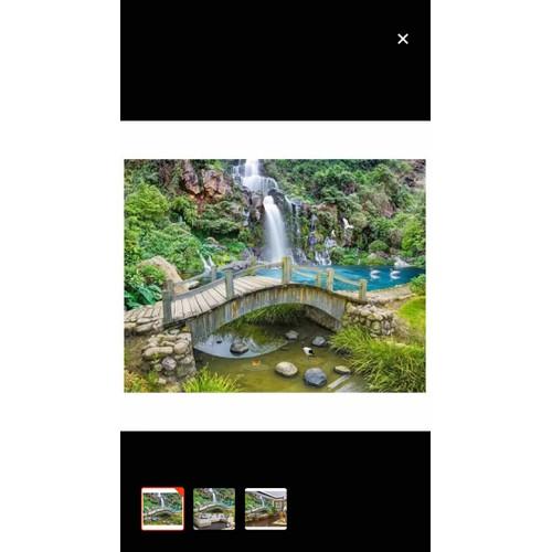 Tranh dán tường 3D phong cảnh 110x90 cm - 11175613 , 18925910 , 15_18925910 , 245000 , Tranh-dan-tuong-3D-phong-canh-110x90-cm-15_18925910 , sendo.vn , Tranh dán tường 3D phong cảnh 110x90 cm
