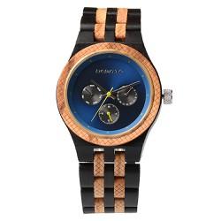 Đồng hồ nam, Đồng hồ nữ, Đồng hồ đeo tay gỗ, Đồng hồ đeo tay giá rẻ - 3