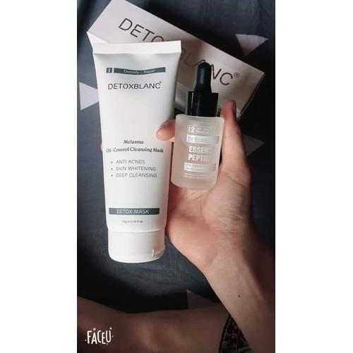Combo detox blanc 1&12 - thải độc trắng da trị thâm nám