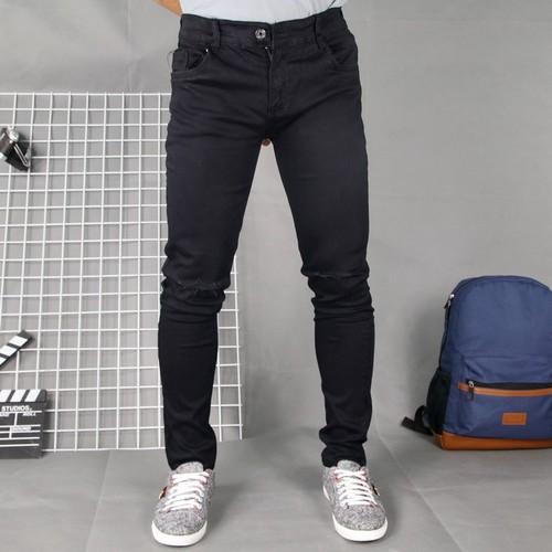 Quần jean nam đen co giãn rách gối DD220 shop ĐỊCH ĐỊCH | quần jeans nam | quần nam - 11625235 , 19325743 , 15_19325743 , 176000 , Quan-jean-nam-den-co-gian-rach-goi-DD220-shop-DICH-DICH-quan-jeans-nam-quan-nam-15_19325743 , sendo.vn , Quần jean nam đen co giãn rách gối DD220 shop ĐỊCH ĐỊCH | quần jeans nam | quần nam