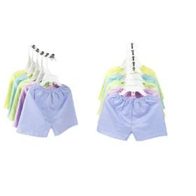 Quần áo cho bé- Set 5 quần đùi màu Bosini cho bé 2-21kg - quanduimau