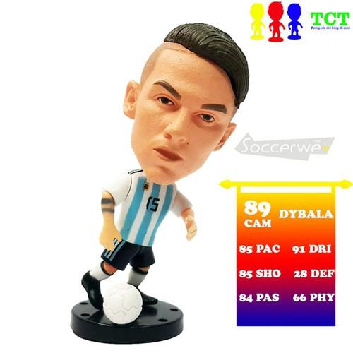Tượng cầu thủ bóng đá dybala plus+