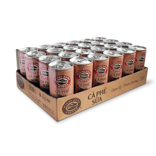 Thùng 24 lon cà phê sữa Highlands Coffee 235ml - 11668821 , 19333135 , 15_19333135 , 276000 , Thung-24-lon-ca-phe-sua-Highlands-Coffee-235ml-15_19333135 , sendo.vn , Thùng 24 lon cà phê sữa Highlands Coffee 235ml