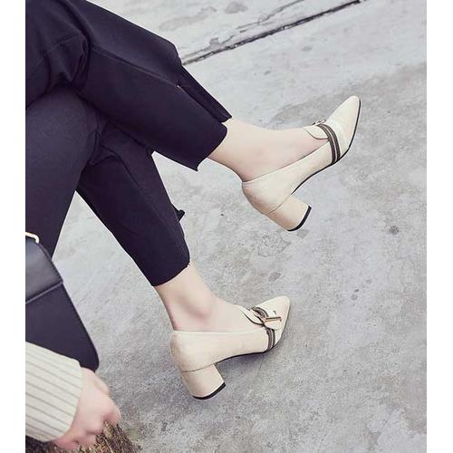 Giày gót vuông  - gv82