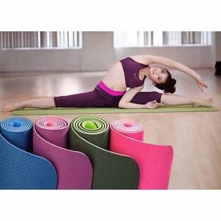 Thảm tập yoga TPE 2 lớp siêu bền - yoga01 thumbnail
