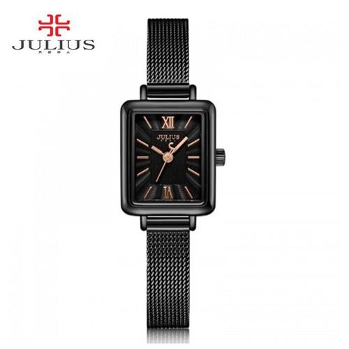 Đồng hồ nữ ja-1153e julius hàn quốc dây thép đen - 16990385 , 19323685 , 15_19323685 , 1700000 , Dong-ho-nu-ja-1153e-julius-han-quoc-day-thep-den-15_19323685 , sendo.vn , Đồng hồ nữ ja-1153e julius hàn quốc dây thép đen