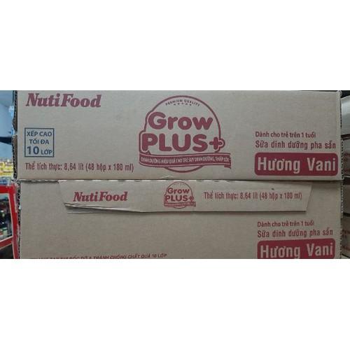 Nutifood grow plus hương vani - 48 hộp x 180ml