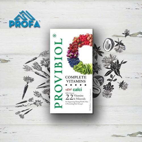 Provibiol vitamin complete hộp 60v - bổ sung 22 vitamin và khoáng chất -mỹ