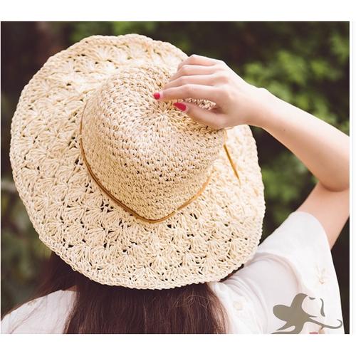Mũ cói móc thời trang, nón đi biển đẹp, mũ cói rộng vành thắt nơ cao cấp - 17258512 , 19331498 , 15_19331498 , 120000 , Mu-coi-moc-thoi-trang-non-di-bien-dep-mu-coi-rong-vanh-that-no-cao-cap-15_19331498 , sendo.vn , Mũ cói móc thời trang, nón đi biển đẹp, mũ cói rộng vành thắt nơ cao cấp