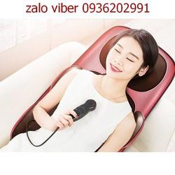 Máy massage toàn thân có hồng ngoại- Đệm ghế massage toàn thân