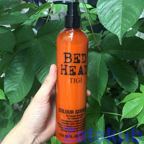 Dầu gội dành cho mái tóc nhuộm tigi bed head colour goddess oil infused shampoo 400ml