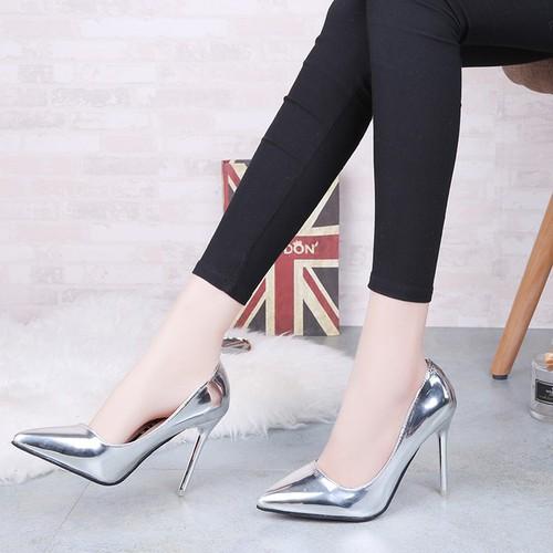 Giày cao gót nữ, sexy, mũi nhọn, gót nhỏ, màu bạc, phong cách hàn quốc, dễ kết hợp, phù hợp cho mùa xuân - 17267558 , 19349621 , 15_19349621 , 250000 , Giay-cao-got-nu-sexy-mui-nhon-got-nho-mau-bac-phong-cach-han-quoc-de-ket-hop-phu-hop-cho-mua-xuan-15_19349621 , sendo.vn , Giày cao gót nữ, sexy, mũi nhọn, gót nhỏ, màu bạc, phong cách hàn quốc, dễ kết hợp