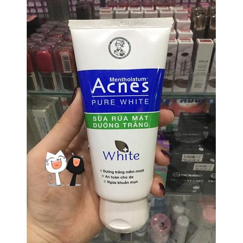 Sữa rửa mặt dưỡng trắng Acnes Pure White 100g - 11154551 , 19354266 , 15_19354266 , 80000 , Sua-rua-mat-duong-trang-Acnes-Pure-White-100g-15_19354266 , sendo.vn , Sữa rửa mặt dưỡng trắng Acnes Pure White 100g