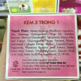 combo 12 hũ Sắc Thể Ngọc Hoàn Khang kem 3 trong 1 giá bao bì 99k - combo 12 sắc thể hồng99k-2
