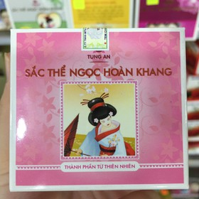combo 12 hũ Sắc Thể Ngọc Hoàn Khang kem 3 trong 1 giá bao bì 99k - combo 12 sắc thể hồng99k-1