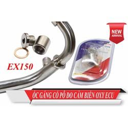ốc gắn cảm biến Oxygen cho ex 150 và các dòng xe