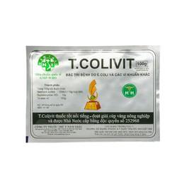 T COLIVIT 100g - Ecoli và các vị khuẩn khác trên ong, gia cầm, gia súc