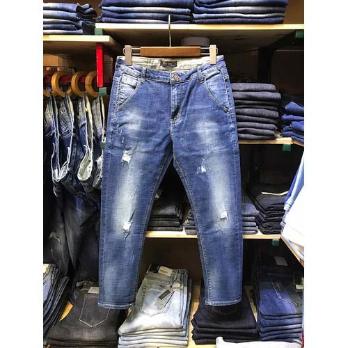 Quần jeans nam ống côn slimfit cao cấp mài rách - 19165434 , 19364533 , 15_19364533 , 715000 , Quan-jeans-nam-ong-con-slimfit-cao-cap-mai-rach-15_19364533 , sendo.vn , Quần jeans nam ống côn slimfit cao cấp mài rách