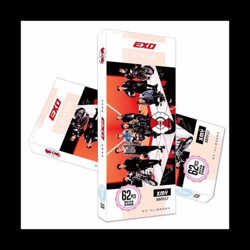 Bookmark exo 3 hộp ảnh tập ảnh đánh dấu sách kẹp sách tiện lợi 36 tấm dụng cụ học tập hình ảnh thần tượng hàn quốc