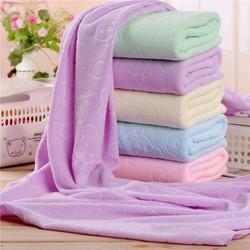 Combo 5 khăn tắm cotton khổ to 140x70