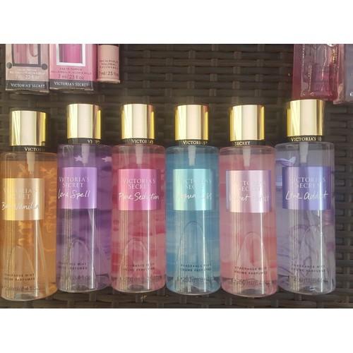 01 chai xịt thơm toàn thân sau tắm  chính hiệu sản xuất tại  mỹ - mẫu mới nhiều mùi