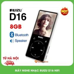 Máy nghe nhạc ruizu D16,hifi,có bluetooth 4.0,phím cảm ứng