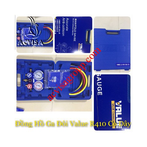 Đồng hồ gas đôi value model vmg 2 r410a b có dây